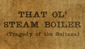 That Ol' Steam Boiler